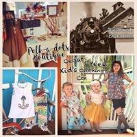 Polk a Dots, Railroad Eclectics, & Cedar Creek Kid's Clothing