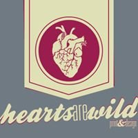 Hearts Are Wild Print & Design