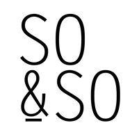 So & So