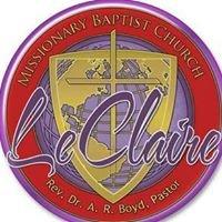 LeClaire M B Church