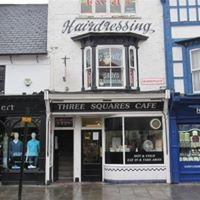 Rowells Gents Hairdresser -three squares