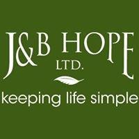 J&B Hope Ltd.: keeping life simple