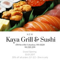 Kaya Grill & Sushi
