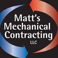 Matt's Mechanical Contracting LLC
