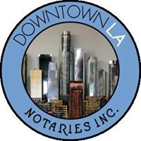 Downtown Los Angeles Notary