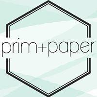 Prim + paper