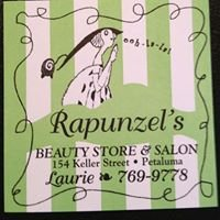 Laurie parr at Rapunzels Hair Salon