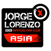 Jorge Lorenzo 99 ASIA Fan Club