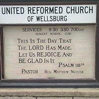 The United Reformed Church of Wellsburg