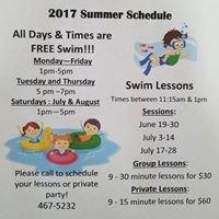 Dotty Olson Community Pool