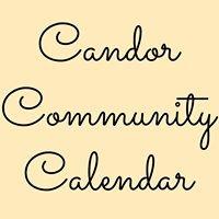 Candor Community Calendar