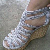 Venta De Zapatos Tejidos a Mano
