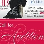 Auditions Enter to Win