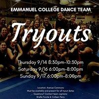 Emmanuel College Dance Team
