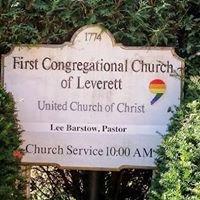 First Congregational Church of Leverett, UCC