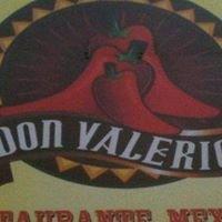 Don Valerios Mexican Restaurant