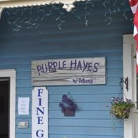 Purple Hayes by Delores