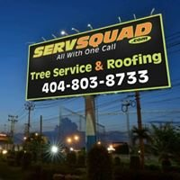 Servsquad Atlanta Tree Service, Roofing, Water Damage, Painting