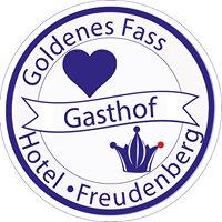 Goldenes Fass