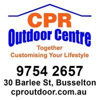 CPR Outdoor Centre Busselton - Patios and Sheds