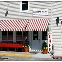 Janet's General Store Cafe