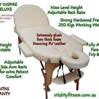 Vitality Fitness Massage Tables online shop Sydney Australia