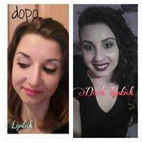 Nail Art & Make Up Artist Dark Lipstick