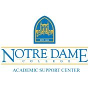 Notre Dame College Academic Support Center