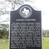 Lamar Cemetery - Aransas County, Texas