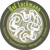 Hof Luckmann - Getränkespezialitäten
