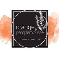Orange & pamplemousse Bistro