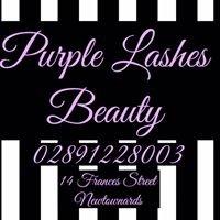Purple Lashes Beauty
