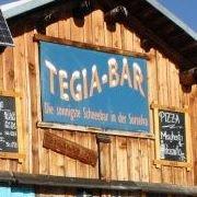 Tegia-Bar, die sonnigste Schneebar in der Surselva