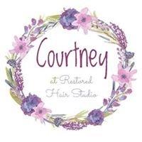 Courtney at Restored Hair Studio