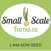 Small Scale Farms - Niagara Farm Project