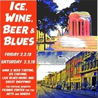 Ice, Wine, Beer & Blues in Marshall