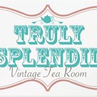 Truly Splendid vintage tearoom