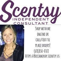 Becca McKoy, Independent Scentsy Consultant
