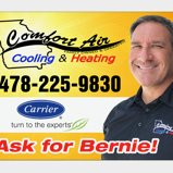Comfort Air Cooling and Heating 478-225-9830