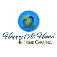 Happy At Home - In Home Care Inc.