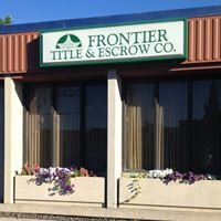 Frontier Title & Escrow Company