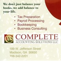 Complete Accounting Solutions, LLC