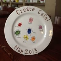 Create Cafe - Pottery Painting