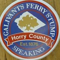 The Galivants Ferry Stump Speaking