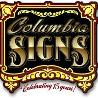Columbia Signs
