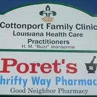 Poret's Thrifty Way Pharmacy