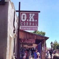 The O.K. Corral, Tombstone, Az.