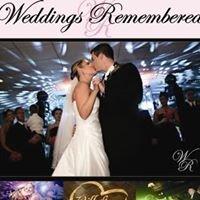 Weddings Remembered Professional Wedding & Event Disc Jockey Service