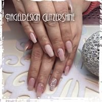Nageldesign Glitzershine