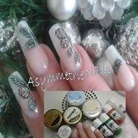 Asymmetrie Nails